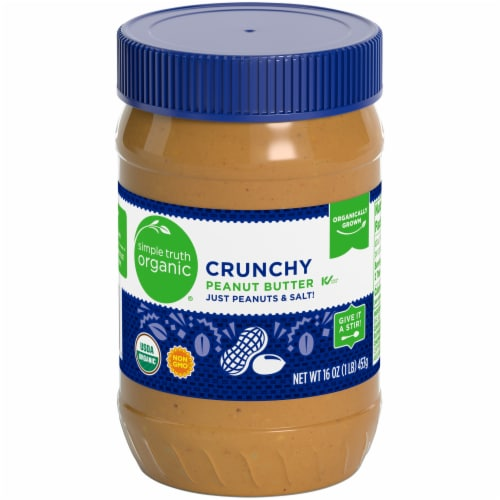 Simple Truth Organic® Crunchy Peanut Butter Perspective: front
