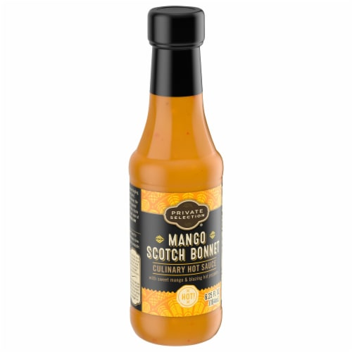 Private Selection™ Indian Mango Scotch Bonnet Hot Sauce Perspective: front
