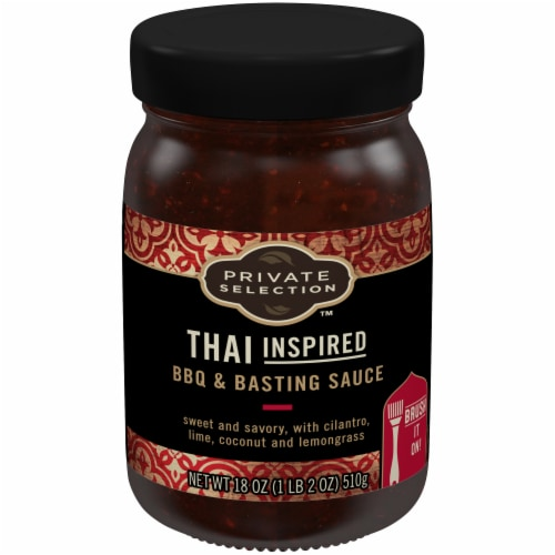 Private Selection™ Thai Inspired BBQ & Basting Sauce Perspective: front