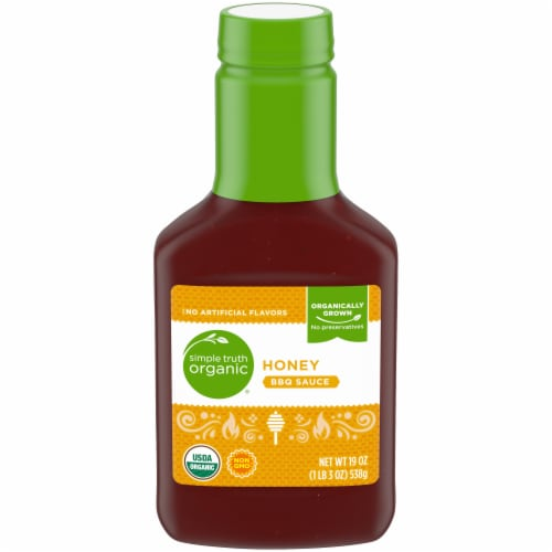 Simple Truth Organic® Honey BBQ Sauce Perspective: front