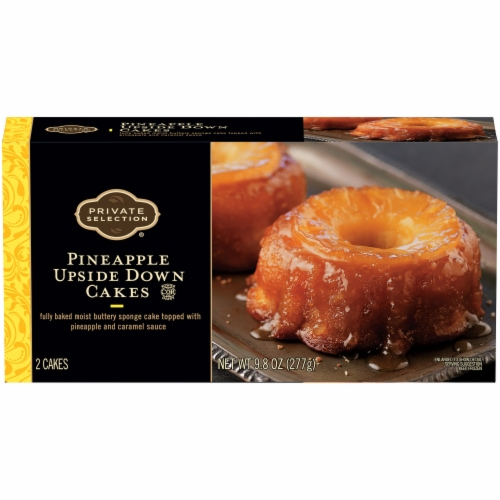 Private Selection™ Pineapple Upside Down Cakes Perspective: front