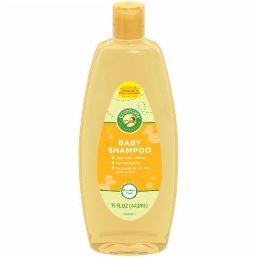 Comforts® Baby Shampoo Perspective: front