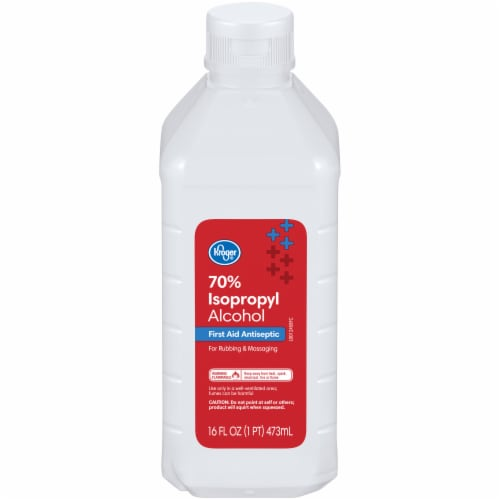 Kroger® 70% Isopropyl Alcohol Perspective: front
