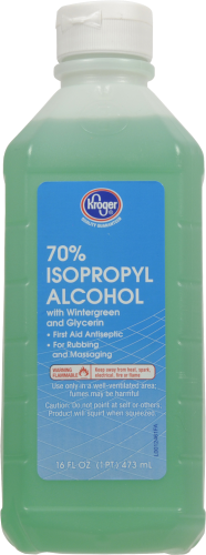 Kroger® 70% Isopropyl Alcohol First Aid Antiseptic Perspective: front