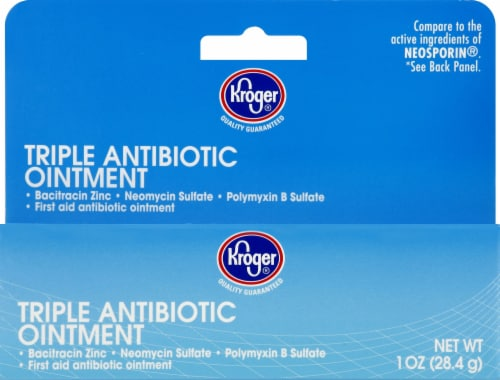 Kroger - Kroger Triple Antibiotic Ointment, 1 Oz
