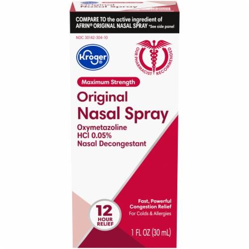 Kroger® Maximum Strength Original Nasal Spray Perspective: front