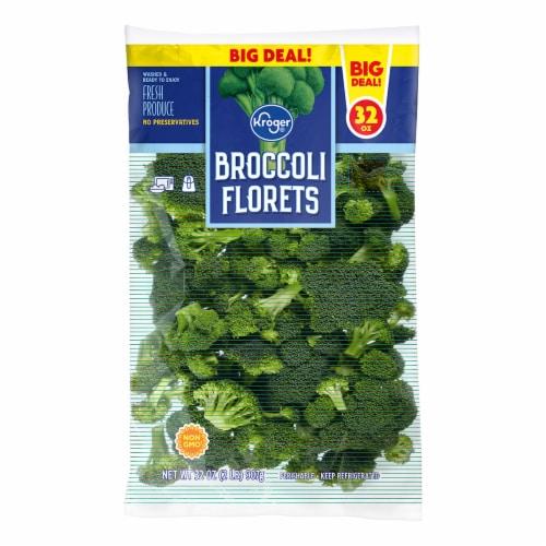 Kroger® Broccoli Florets Perspective: front