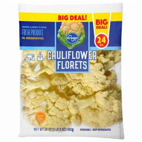 Kroger® Cauliflower Florets Perspective: front