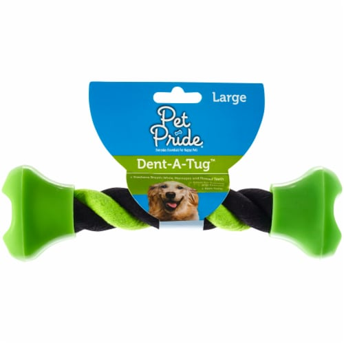Pet Pride™ Large Dent-A-Tug Dog Toy Perspective: front