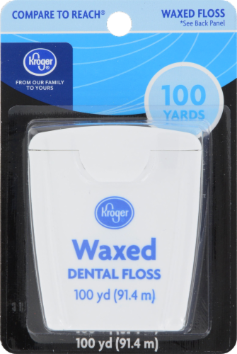 Kroger® Waxed Dental Floss Perspective: front