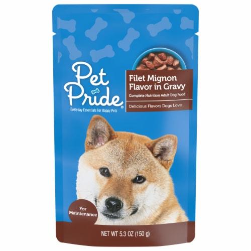 Pet Pride® Filet Mignon Flavor Wet Dog Food Perspective: front