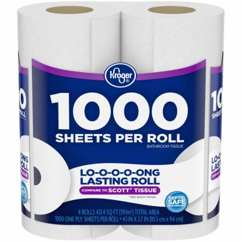 Kroger®  Long Lasting Bath Tissue Perspective: front