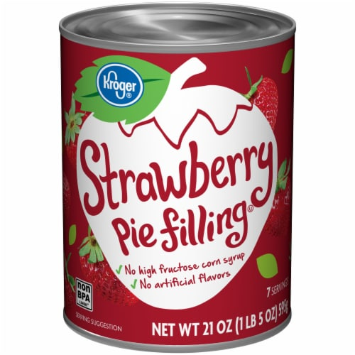 Kroger Kroger Strawberry Pie Filling 21 Oz