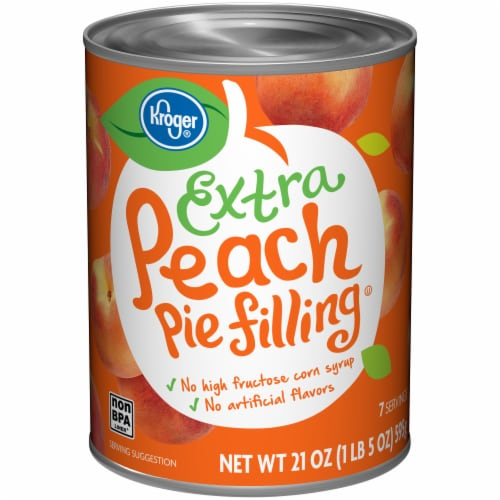 Kroger® Extra Peach Pie Filling Perspective: front