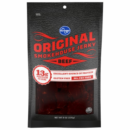 Kroger® Original Beef Smokehouse Jerky Perspective: front