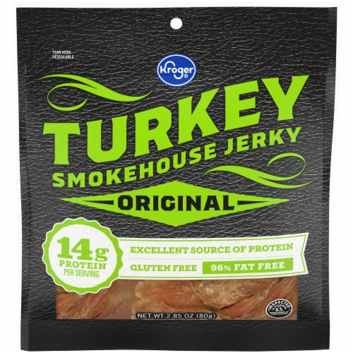 Kroger® Original Turkey Smokehouse Jerky Perspective: front