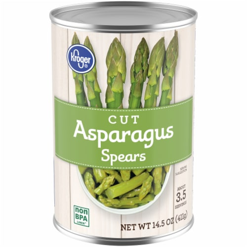 Kroger® Cut Asparagus Spears Perspective: front