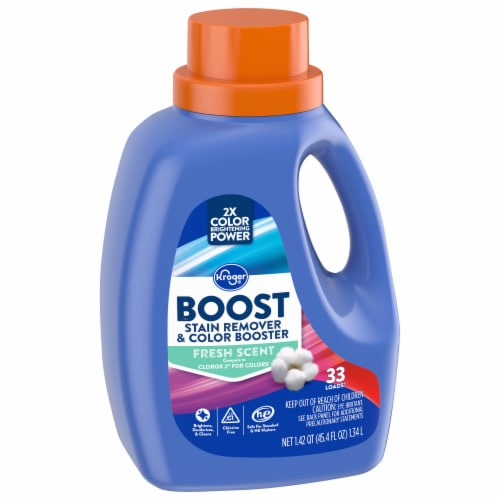 Kroger® Fresh Scent Boost Stain Remover and Color Booster Perspective: front