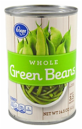 Kroger® Whole Green Beans Perspective: front