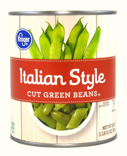Kroger® Italian Style Cut Green Beans Perspective: front