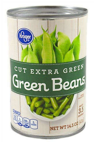 Kroger® Cut Extra Green Beans Perspective: front