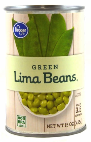 Kroger® Green Lima Beans Perspective: front
