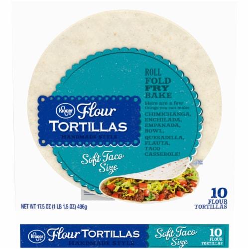 Kroger® Soft Taco Flour Tortillas Perspective: front
