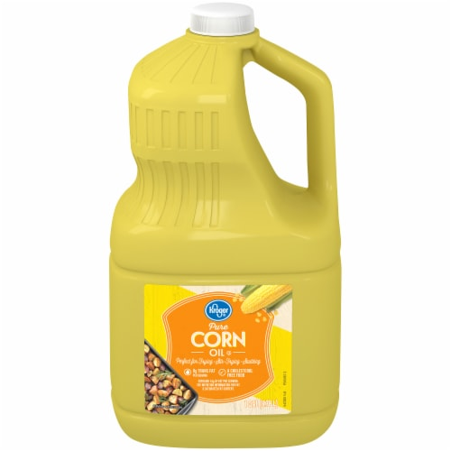 Kroger® Pure Corn Oil Perspective: front