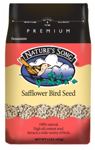 Nature's Song® Safflower Bird Seed Perspective: front