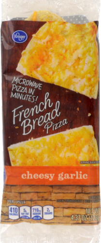 Kroger® Cheesy Garlic French Bread Pizza Perspective: front