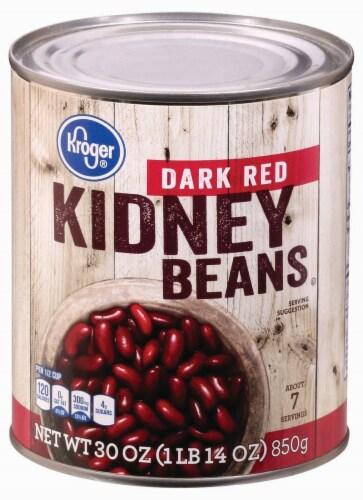Qfc Kroger Dark Red Kidney Beans 30 Oz