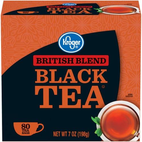 Kroger® British Blend Black Tea Bags Perspective: front