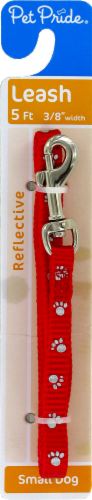 Pet Pride™ Reflective Leash for Small Dogs Perspective: front