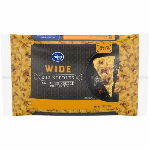 Kroger® Wide Egg Noodles Perspective: front