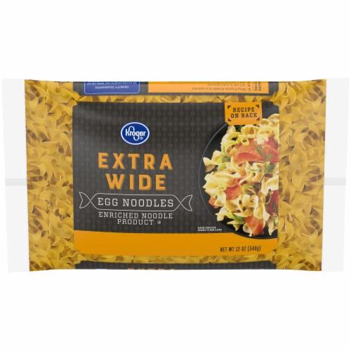 Kroger® Extra Wide Egg Noodles Perspective: front