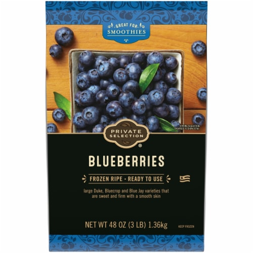 Private Selection™ Frozen Blueberries Perspective: front