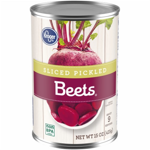 Kroger® Sliced Pickled Beets Perspective: front