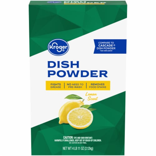 Kroger® Lemon Scent Dish Powder Perspective: front