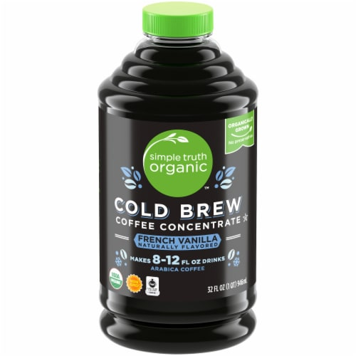 Simple Truth Organic™ Cold Brew French Vanilla Coffee Perspective: front