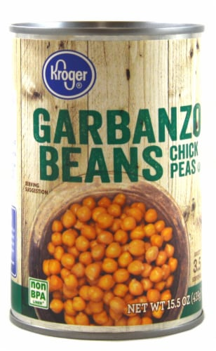 Kroger® Garbanzo Beans Chick-Peas Perspective: front