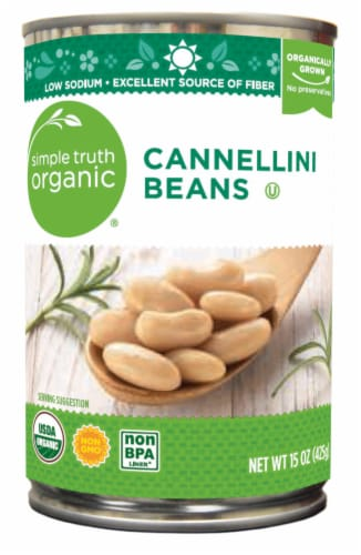Simple Truth Organic® Cannellini Beans Perspective: front