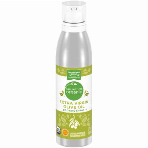 Simple Truth Organic™ Extra Virgin Olive Oil Cooking Spray Perspective: front