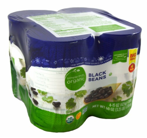 Simple Truth Organic® Black Beans Perspective: front