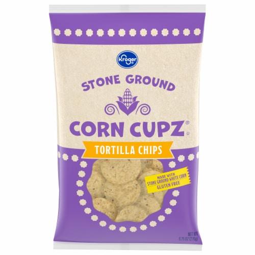 Kroger® Tortilla Cupz Chips Perspective: front