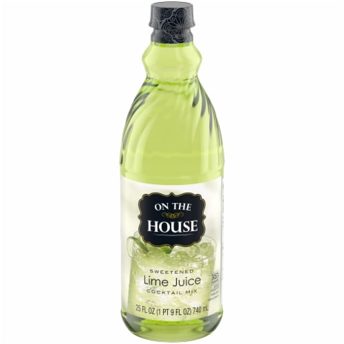 On the House Lime Juice Perspective: front