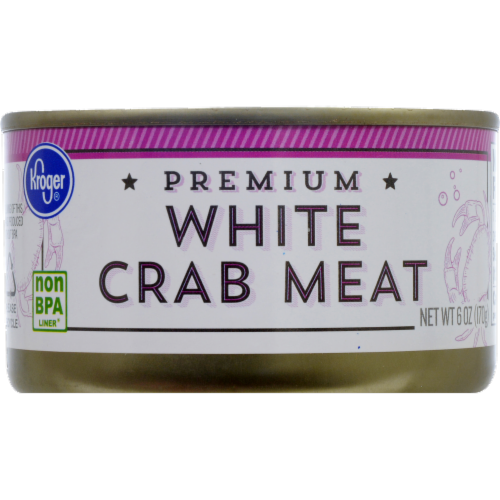 Kroger® Premium White Crab Meat Perspective: front