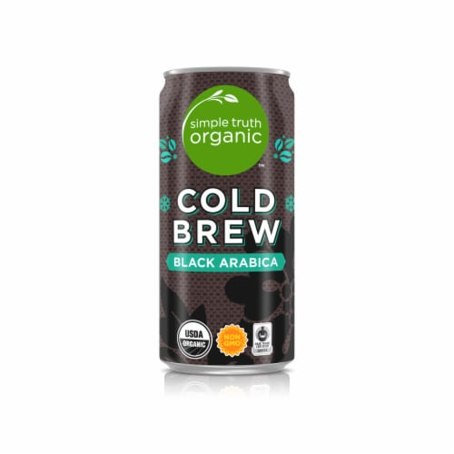 Simple Truth Organic™ Cold Brew Black Brew Arabica Coffee Perspective: front