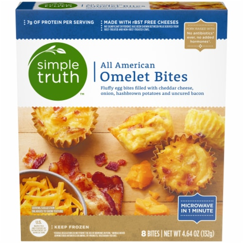 Simple Truth™ All American Omelet Bites Perspective: front