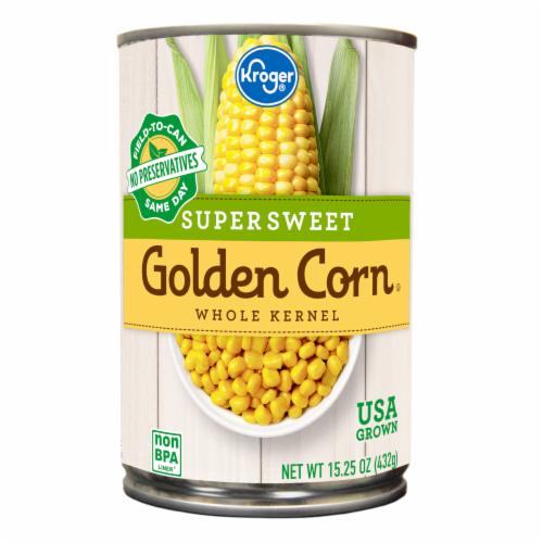 Kroger® Supersweet Whole Kernel Golden Corn Perspective: front