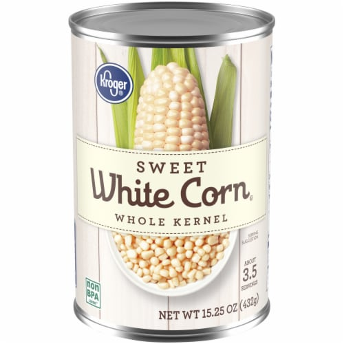 Kroger® Sweet White Whole Kernel Corn Perspective: front
